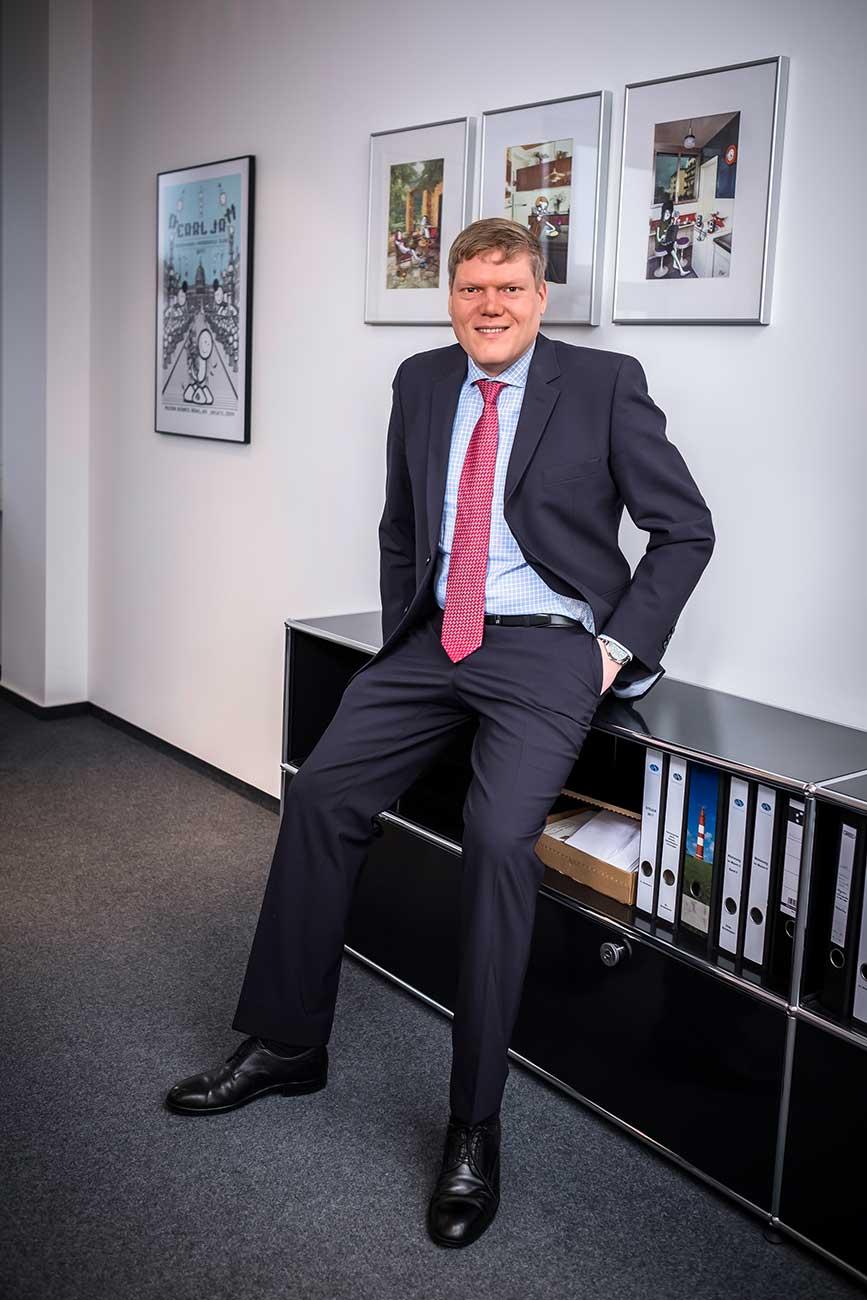 Andreas C. Brinkmann, Rechtsanwalt bei EINSFÜNFACHT