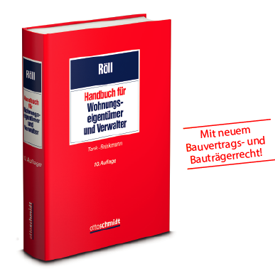 Röll, Handbuch für Wohnungseigentümer und Verwalter